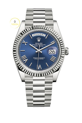 Rolex Day-Date 40 White Gold - 2020