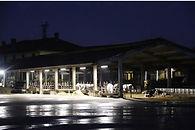 Illuminazione vitellaio azienda agricola Baronchelli