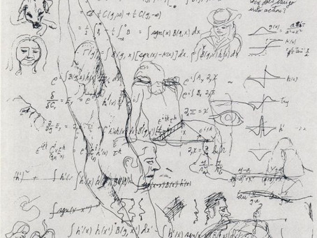 Notebook of bongo player, safe cracker,physicist, Richard Feynman