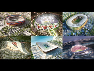 ROAD TO QATAR 2022. TAKE A LOOK INTO THE STADIUMS THAT WILL HOST THE NEXT FIFA WORLD CUP.