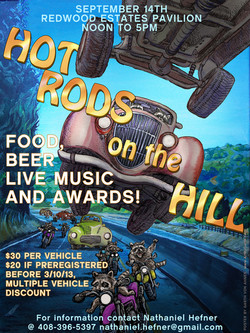 Hotrods on the Hill