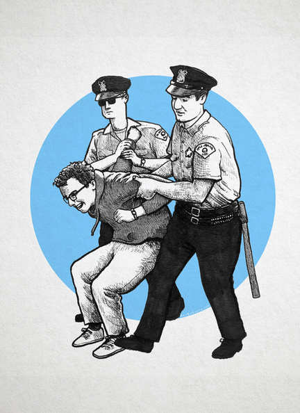 Bernie Gets Arrested