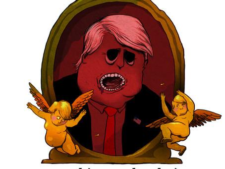 Artist Scathingly Draws President