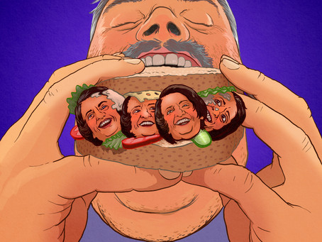 Ayn Rand Sandwich