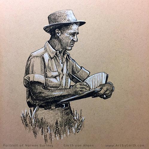 Norman Borlaug Print