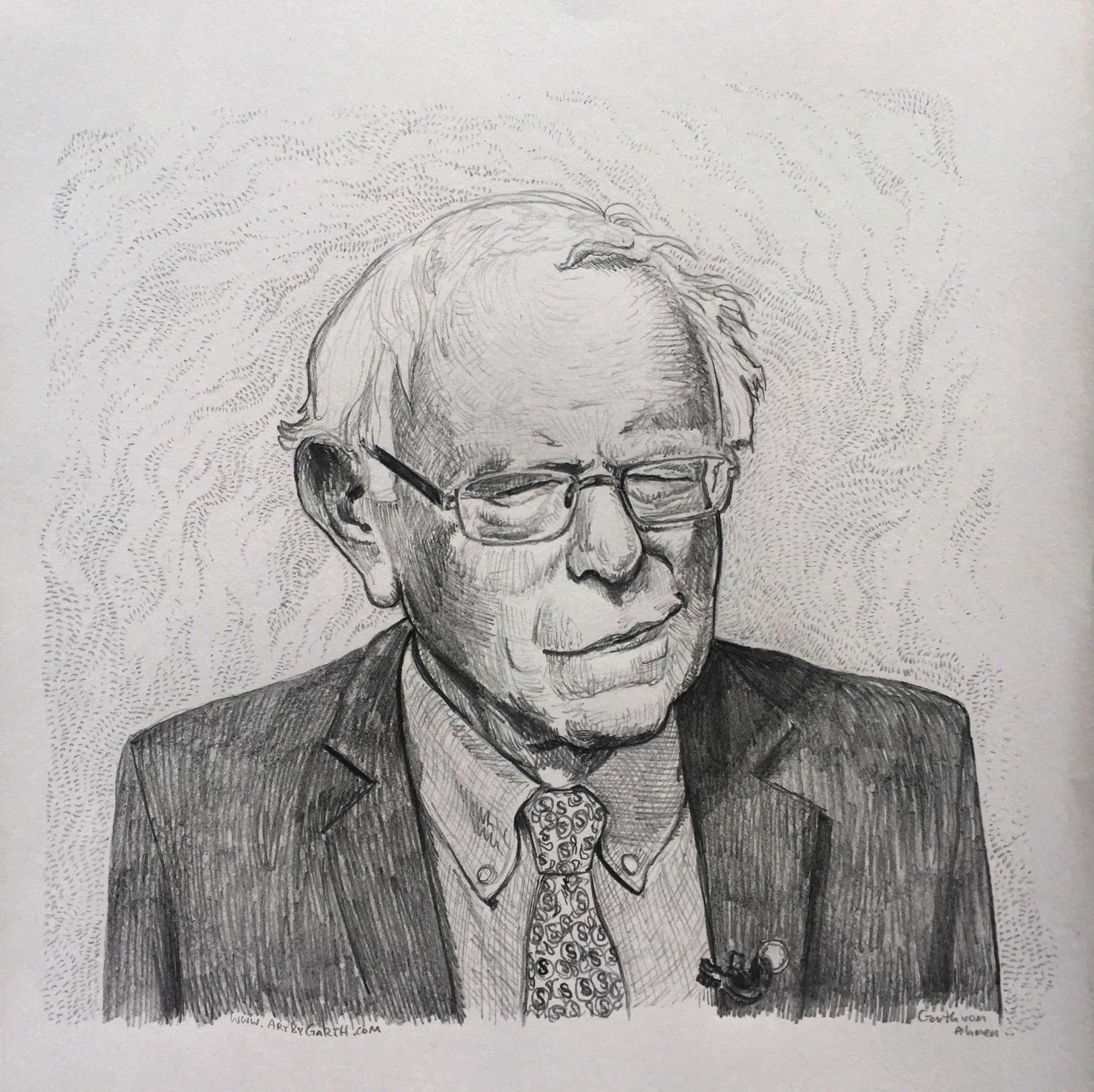 Bernie Amused