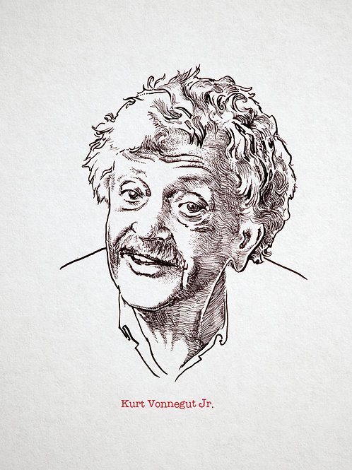 Kurt Vonnegut Jr. Print