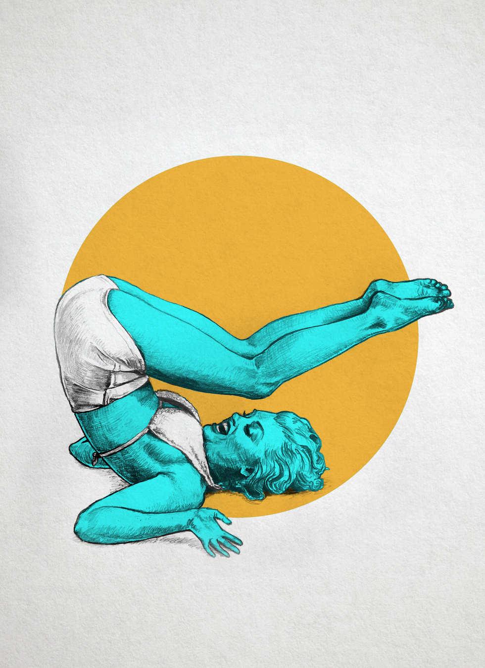 Marilyn Yoga I