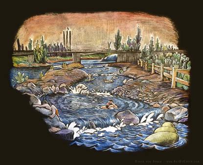 The Deschutes Rapids