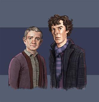 Sherlock Fan Art