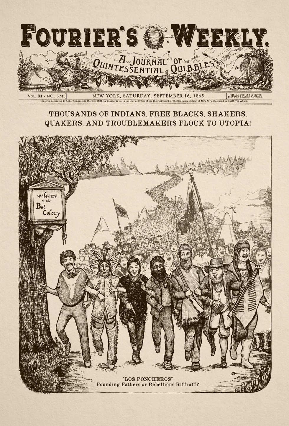 illustration for Los Ponceros