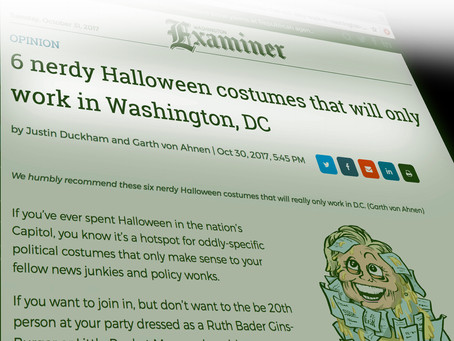 6 nerdy Halloween costumes that will only work in Washington, DC