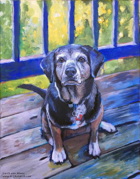 Portrait of Marley