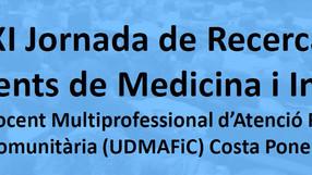 XI Jornada de recerca de residents de la UDMAFiC Costa Ponent - Premis