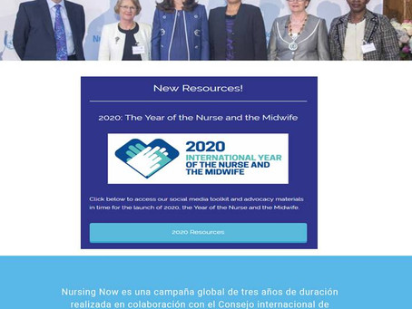 2020 Nursing Now