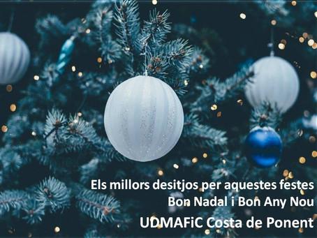 Els millors desitjos per aquestes festes...
