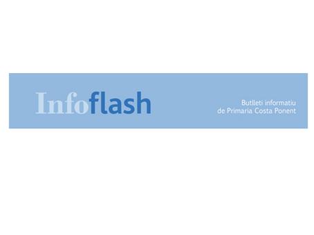 Infoflash 298 - Butlletí d'Atenció Primària Costa Ponent