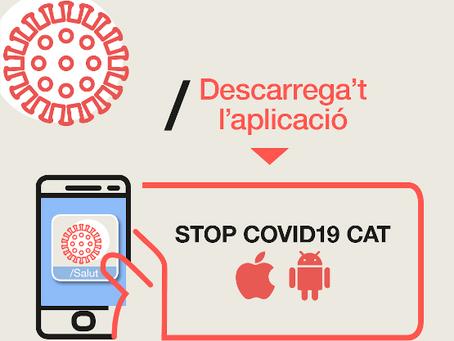 STOP COVID. CAT_ Aplicación