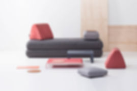 hannabi urban nomad modular sofa and accesories