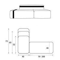 hannabi box hyperactive modular sofa