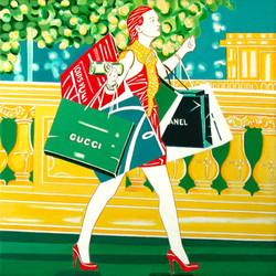 """So god created shopping"""