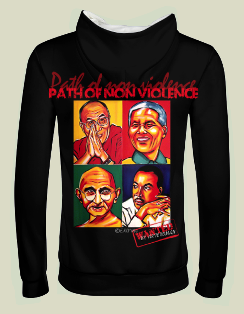 """Path of nonviolence"""