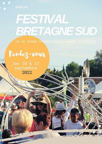 Le Festival Bretagne Sud à Damgan revient les 10 et 11 septembre 2022
