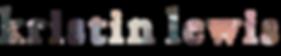 kristin lewis design logo