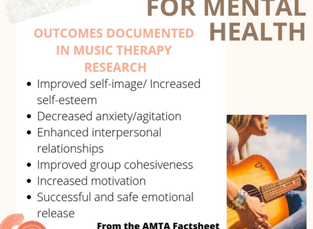 Music Therapy for Mental Health
