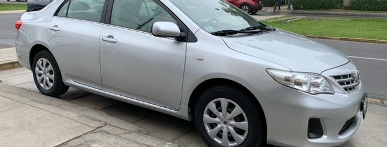 Toyota Corolla XL ,año 2011,motor 1.6lt,mecanico,34000kms,
