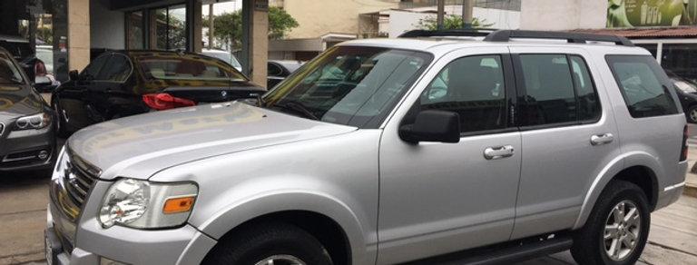 Ford Explorer 2010 modelo 2011 XLT,V6 4.0LT, 4x2
