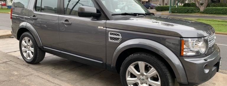 Land Rover Discovery 4 HSE, año modelo 2013, motor V8 5.0LT