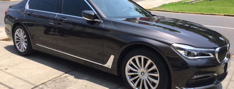 BMW 740 , año modelo 2018,solo 6300 kms,