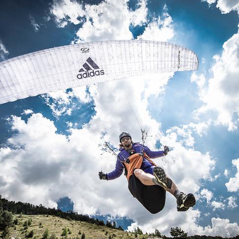 Antoine GIRARD, X-Alps, Adidas