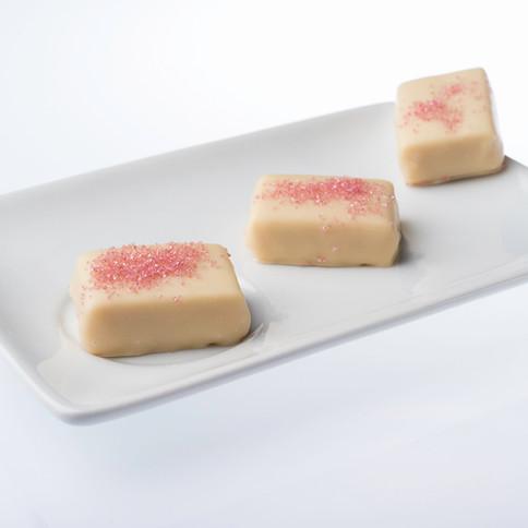 Chocolats Blanc et Fraises