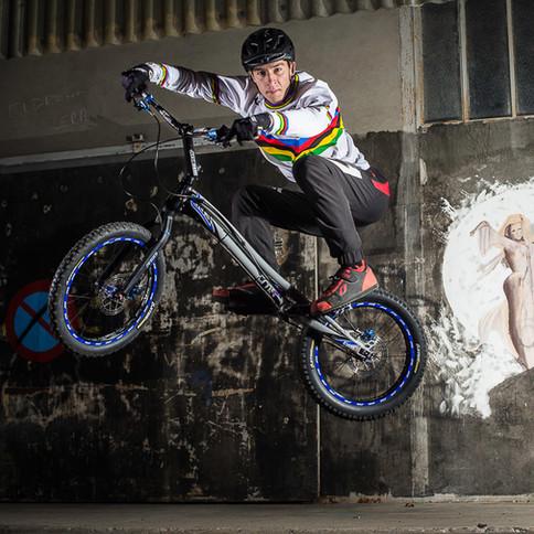Alex Rudeau, Champion du Monde par équipe VTT Trial