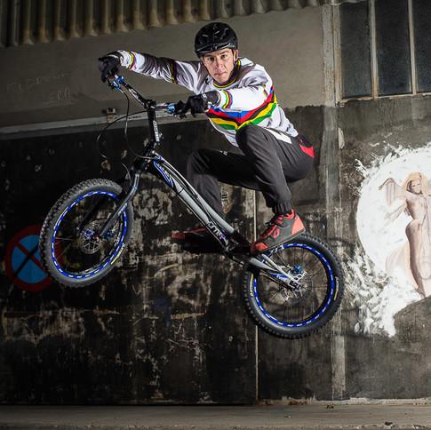 Alex RUDEAU, Champion du Monde de VTT Trial