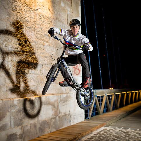 Alex RUDEAU, Champion du Monde par équipe de VTT Trial