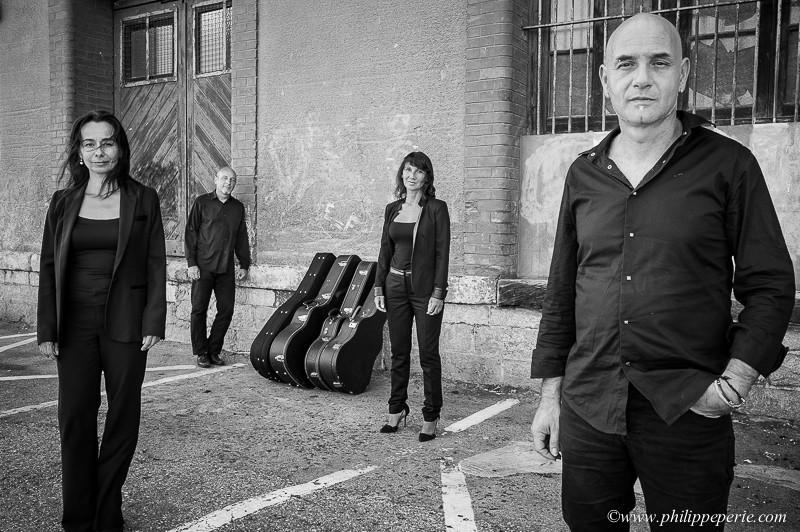 Le quatuor de guitares Ophris ©Philippe Périé