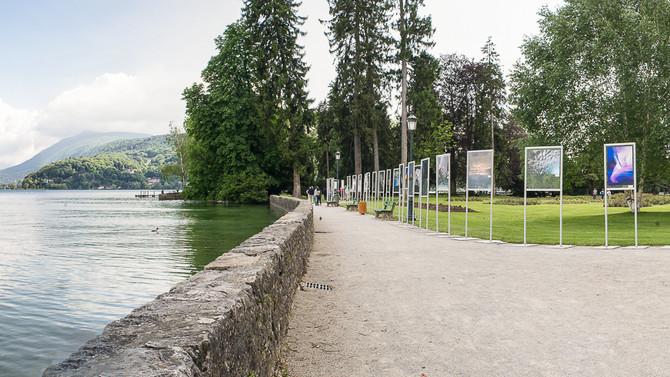 Exposition à Annecy à l'Impérial Palace