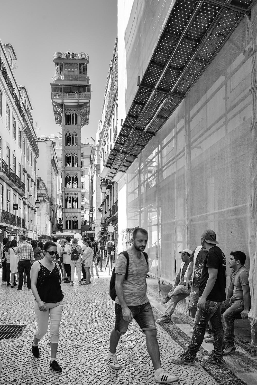 L'ascenseur, Lisbonne