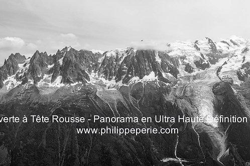 Panorama Ultra haute Définition du Massif du Mont Blanc
