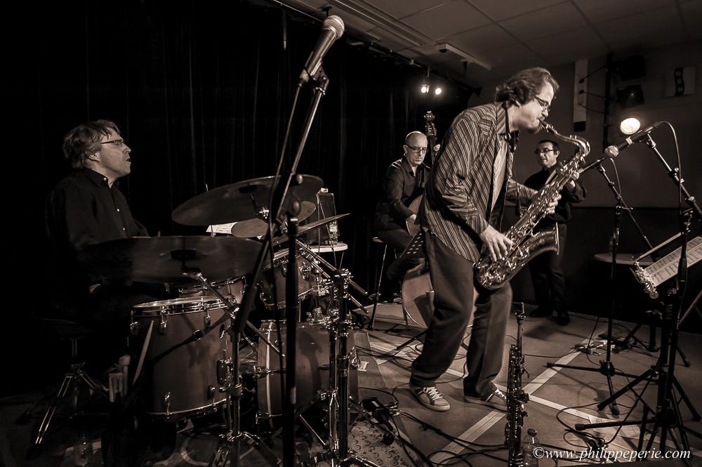 """Stéphane Guillaume Quartet dans le cadre de la tournée de présentation de leur dernier album 'Pewter Session"""""""