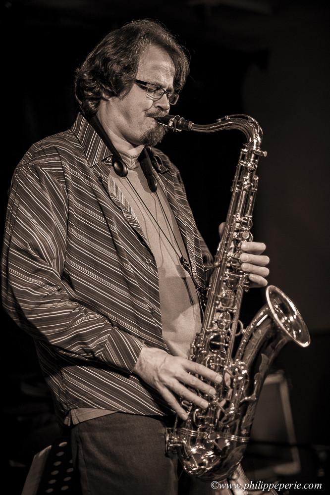 """Stéphane Guillaume Quartet, """"Musiques à la Villa"""" à Romans le 6 novembre 2014."""