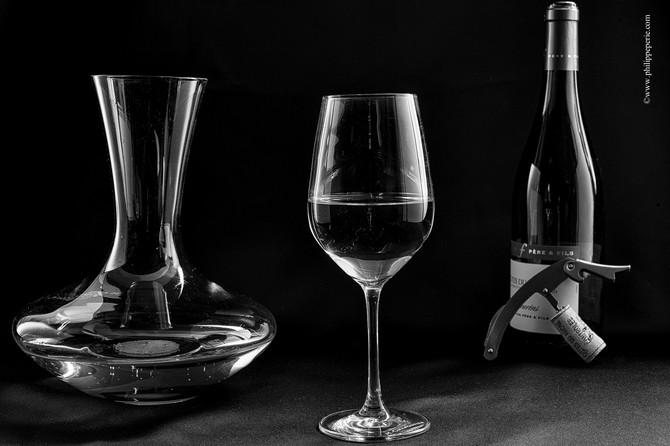 Photographies pour le site MP Wine Consulting de Mélanie Penin, Sommelière à Tournon sur Rhône