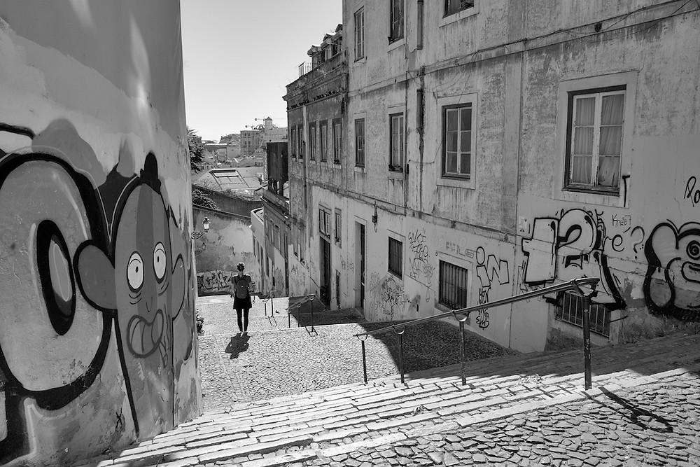 Tags, Lisbonne