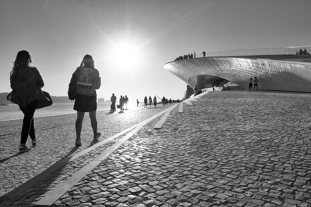 Le long du Tage, Lisbonne