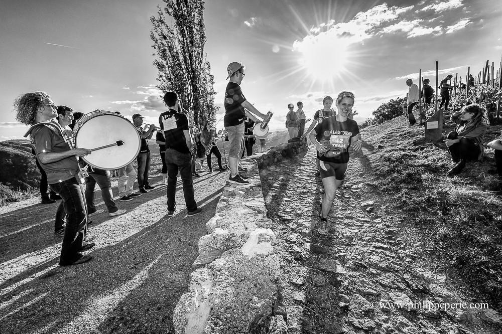 Trail les Duos de l'Hermitage 2017, au niveau de la Chapelle de l'Hermitage avec le Duo Orchestra