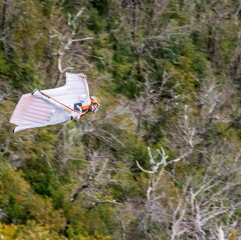 Wingsuite dans le Vercors