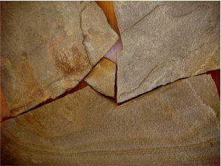 Песчаник серо-желтый